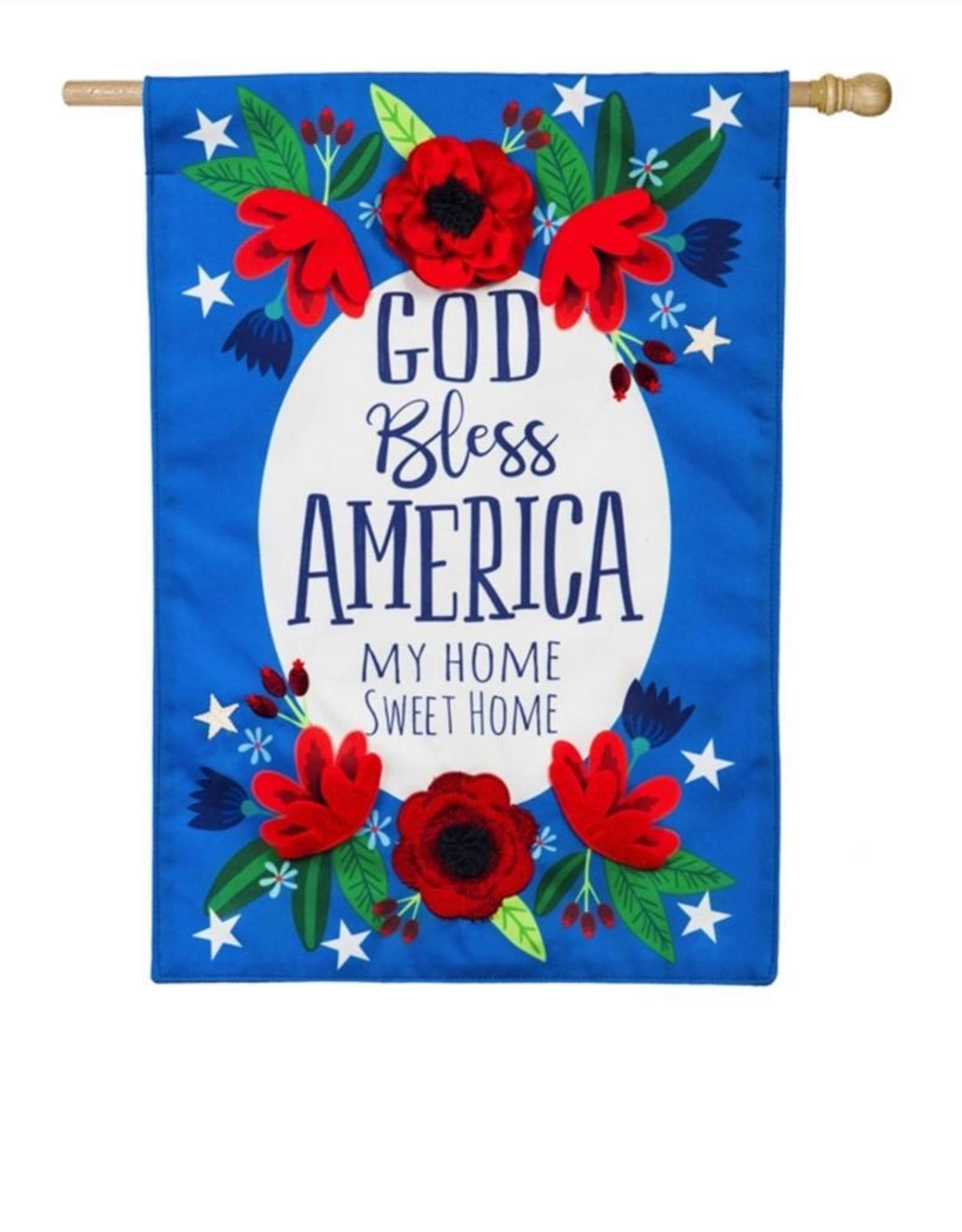 Evergreen EV God Bless America Floral