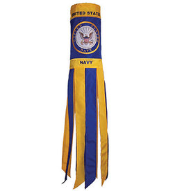 "In The Breeze 40"" Windsock-Navy"