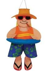 In The Breeze Windsock Floating Man Wind Friend