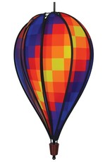 In The Breeze Hot Air Balloon Rainbow Pixel