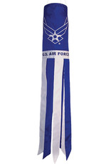"""In The Breeze WINDSOCK-40"""" AIR FORCE WINGS"""