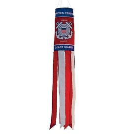 "In The Breeze WINDSOCK-40"" COAST GUARD"