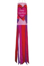 """In The Breeze WINDSOCK-40"""" VALENTINE'S DAY"""