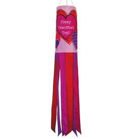 "In The Breeze WINDSOCK-40"" VALENTINE'S DAY"