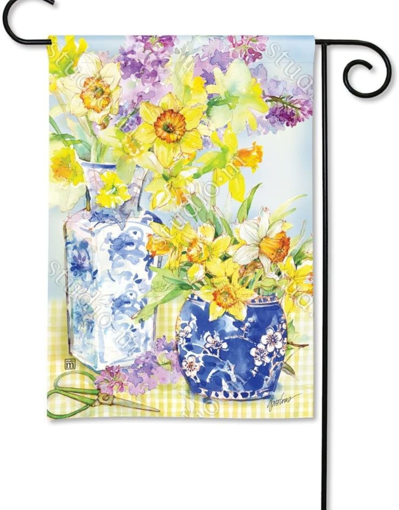 Studio M Daffodils in Vases GF