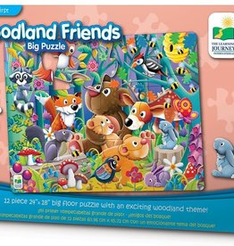 The Learning Journey My First Woodland Friends Big Puzzle 12pc FP