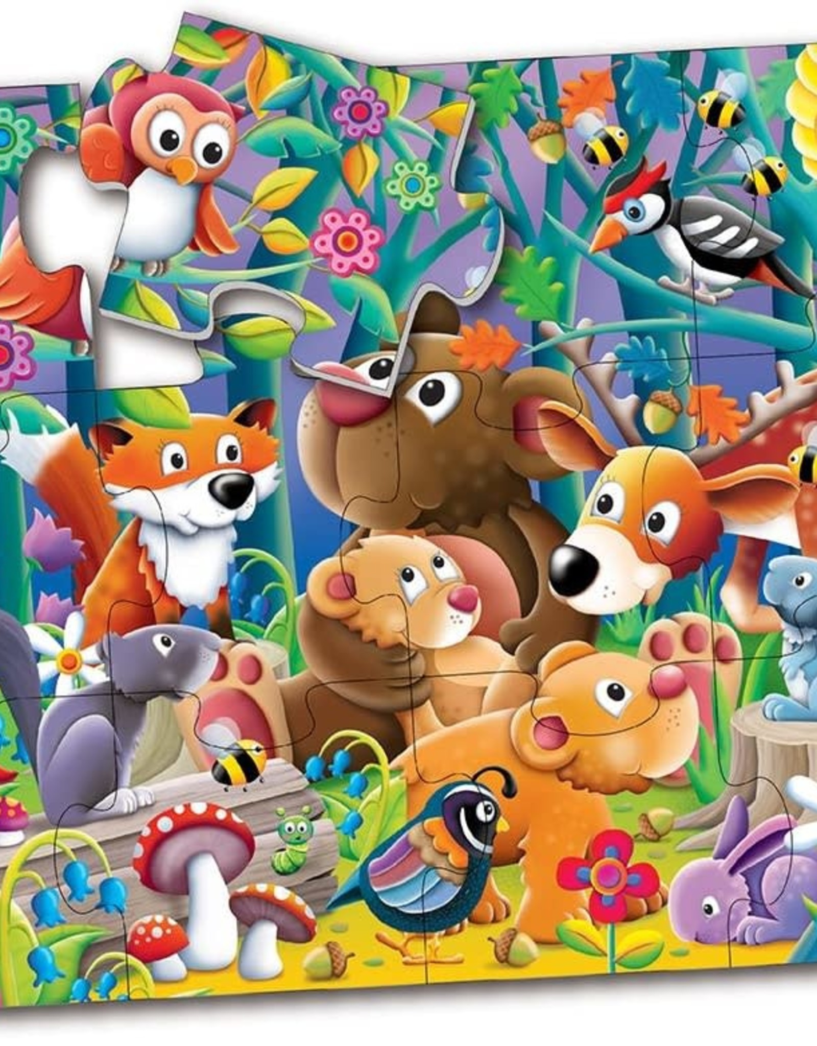 The Learning Journey 12pc Floor Puzzle My First Woodland Friends