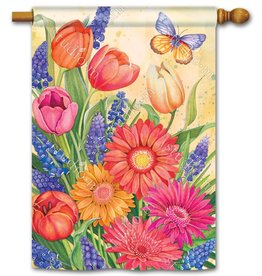 Studio M Spring Burst House Flag