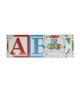 Melissa & Doug MD Jumbo Classic Blocks ABC 123