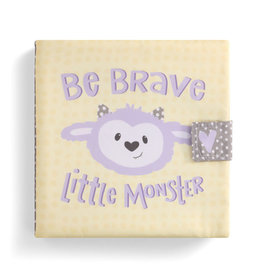 Demdaco Cloth Book Be Brave Little Monster