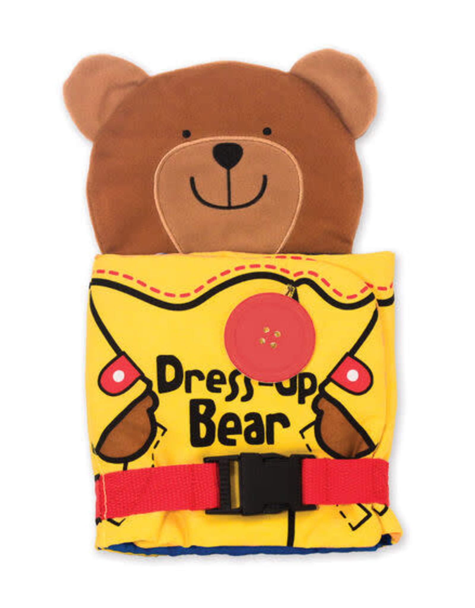 Melissa & Doug MD Cloth Book Dress Up Bear