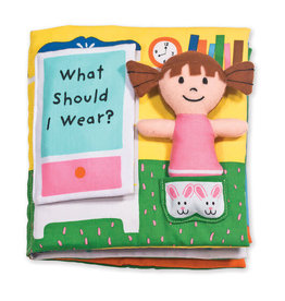 Melissa & Doug MD Cloth Book What Should I Wear