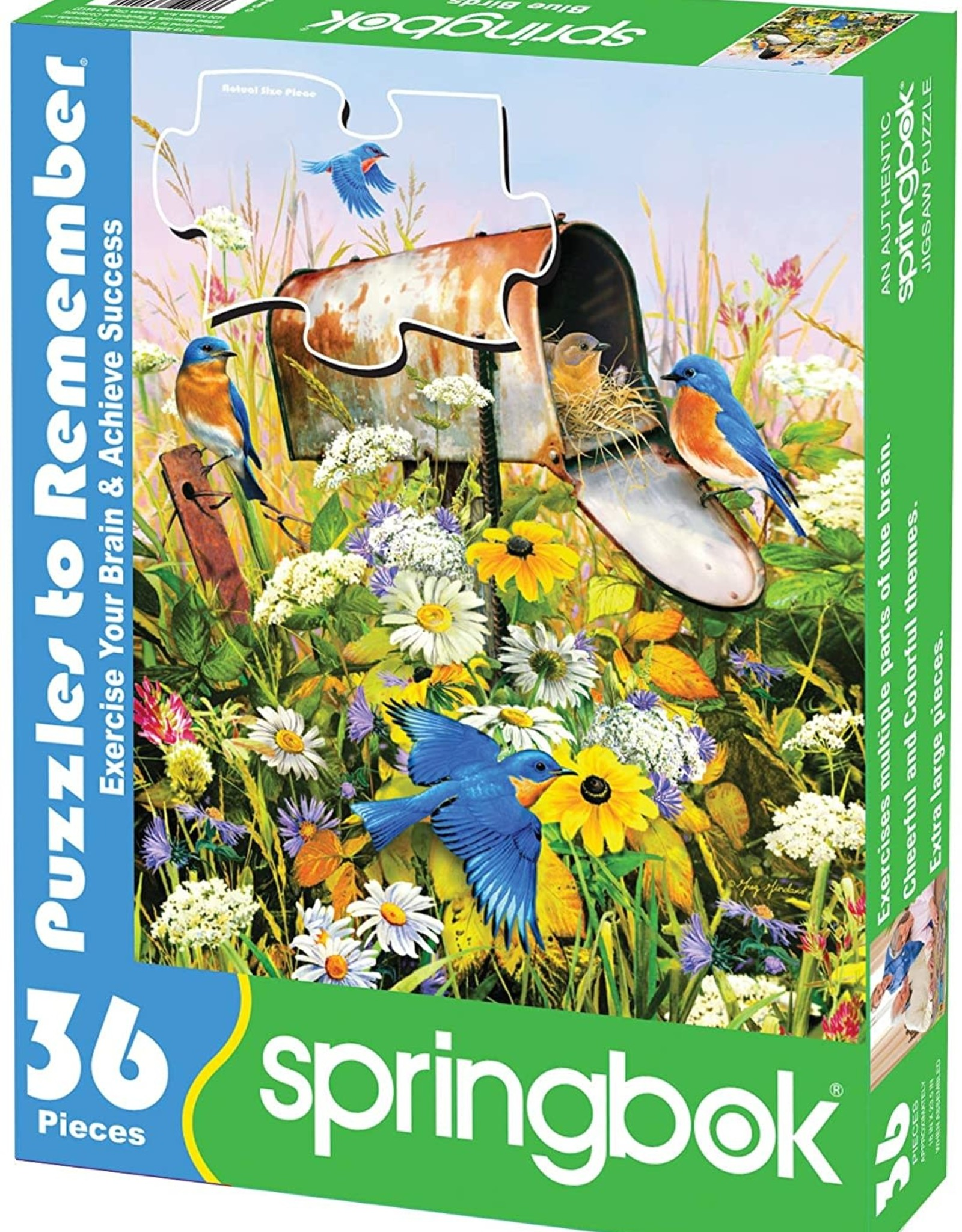 Springbok Blue Birds 36 pc