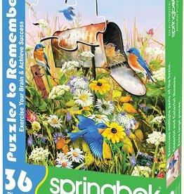 Springbok Blue Birds 36 pc