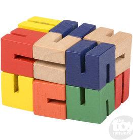 1 Twist Cube Wooden Fidget Toy