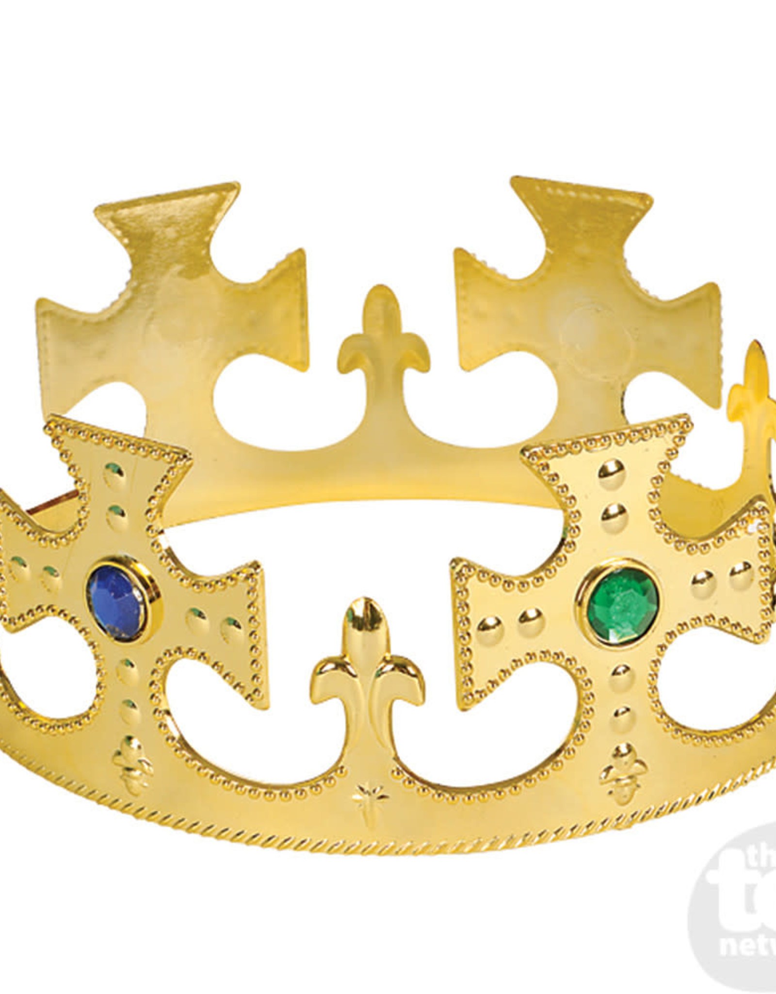 CROWN GOLD JEWELED