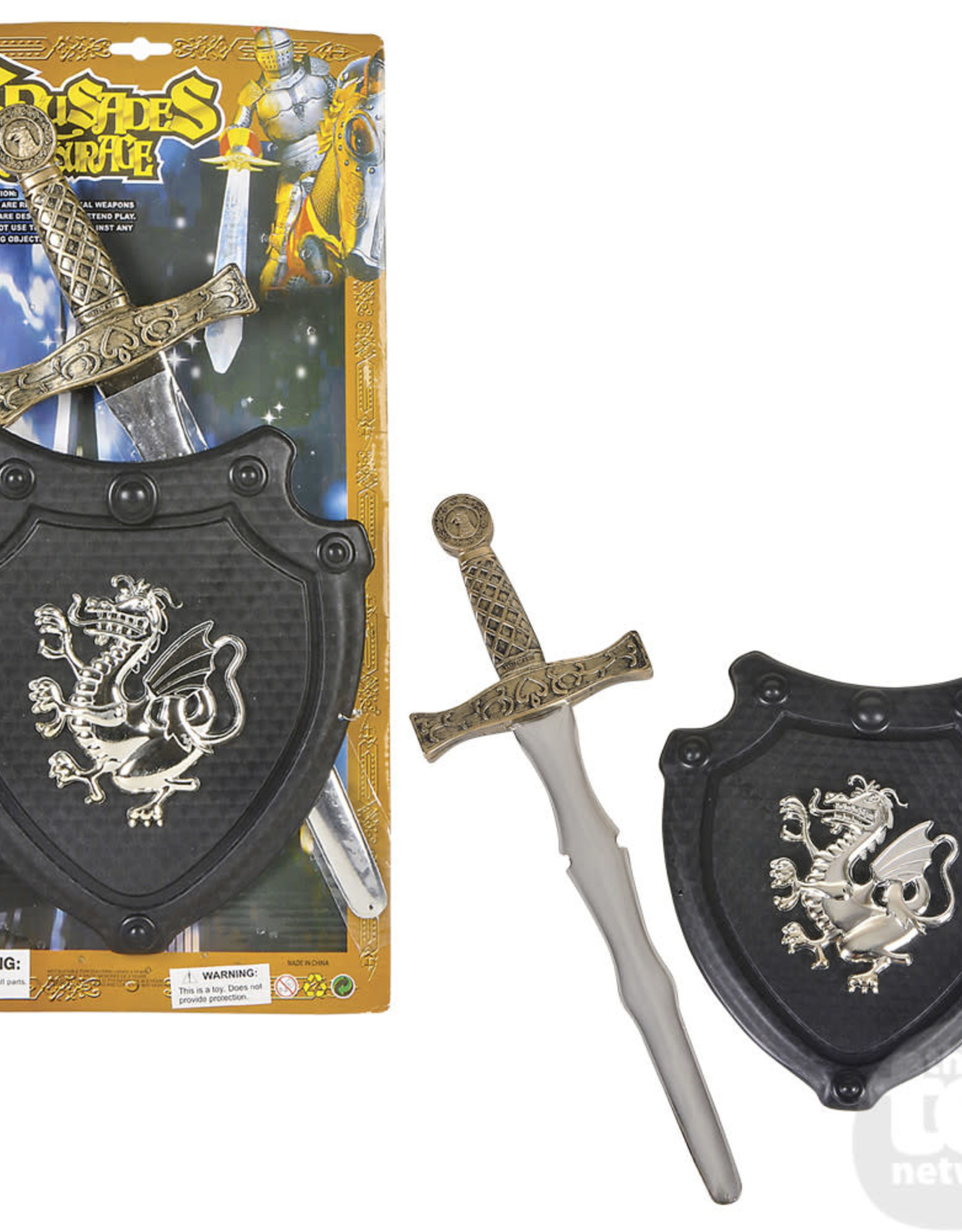 COSTUME 2pc MEDIEVAL KNIGHT ARMOR SET