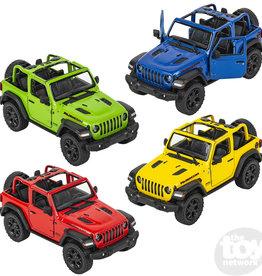 Die Cast Jeep Wrangler