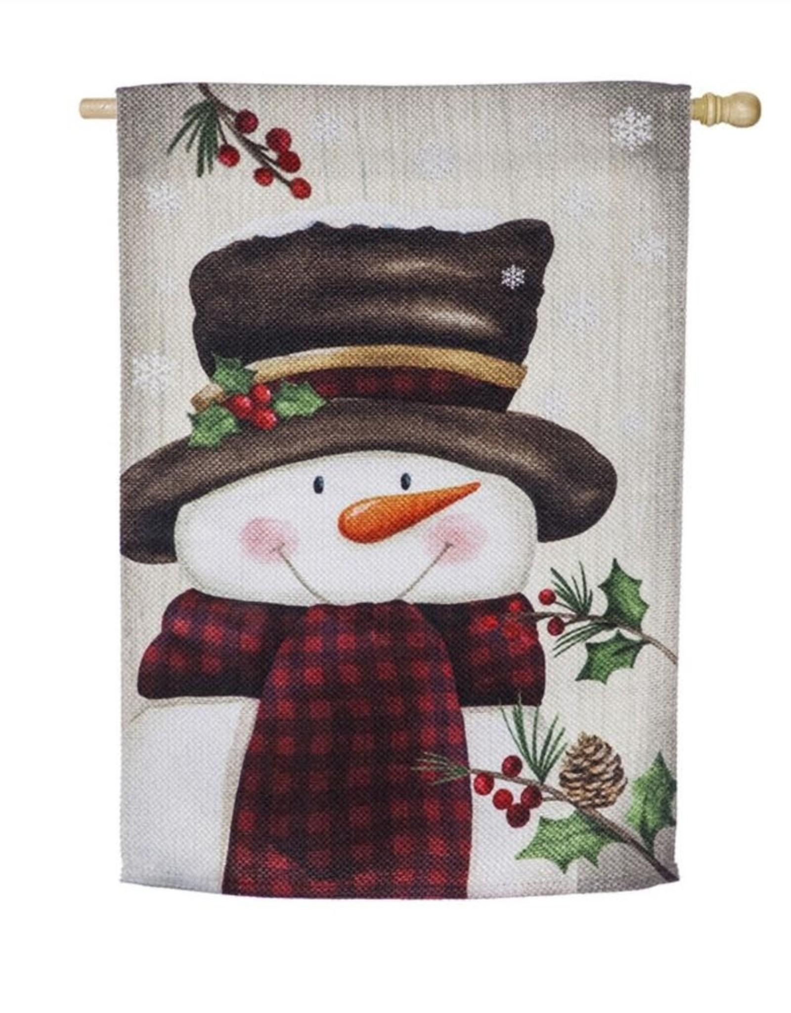 Evergreen EV Smiling Snowman