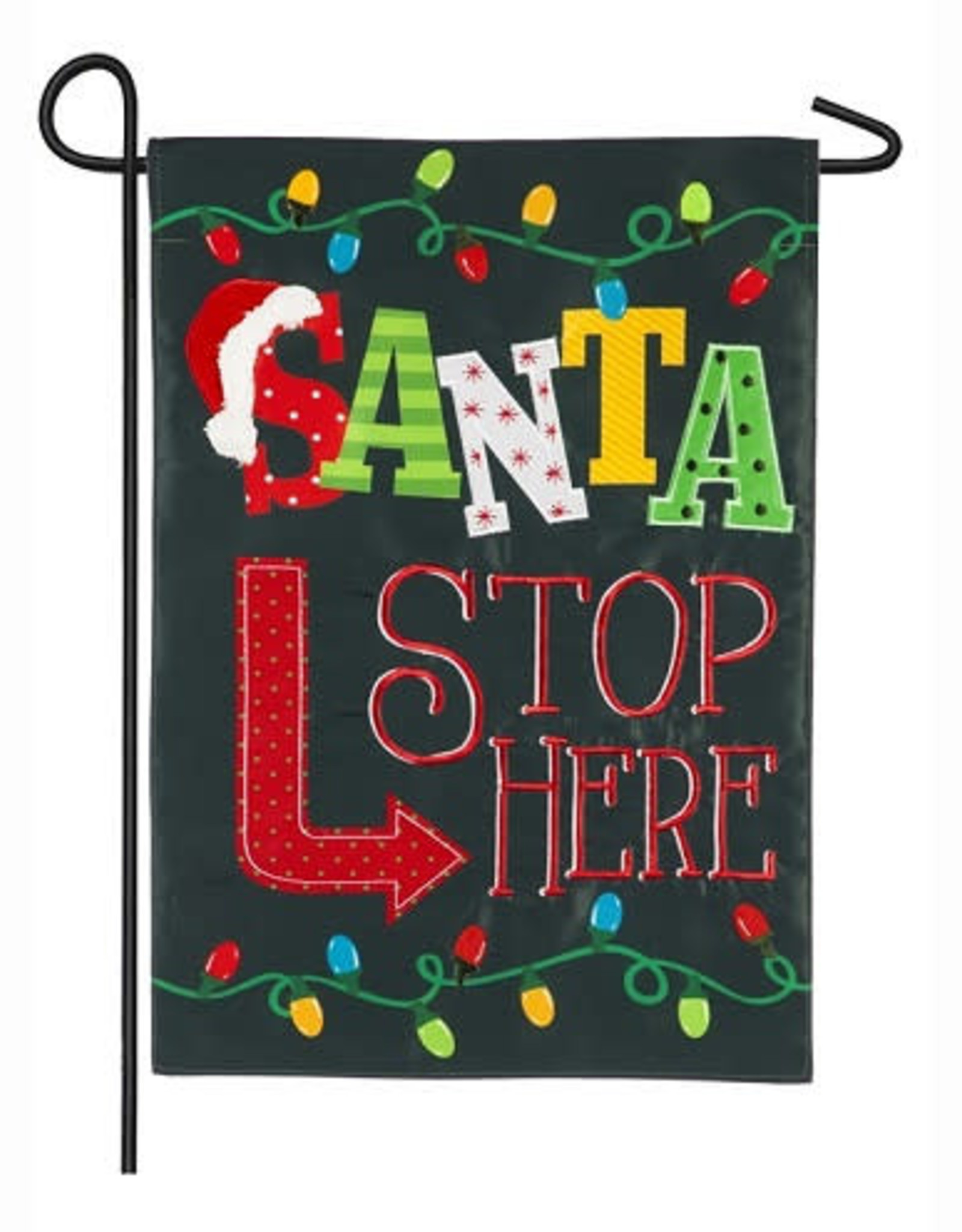 EV Santa Stop Here GF
