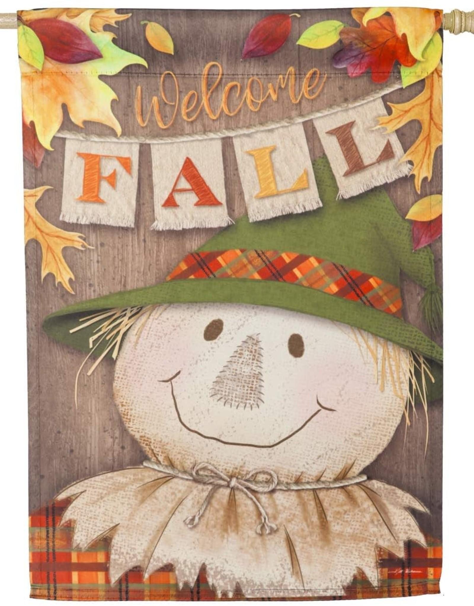 Evergreen EV Welcome Fall Scarecrow