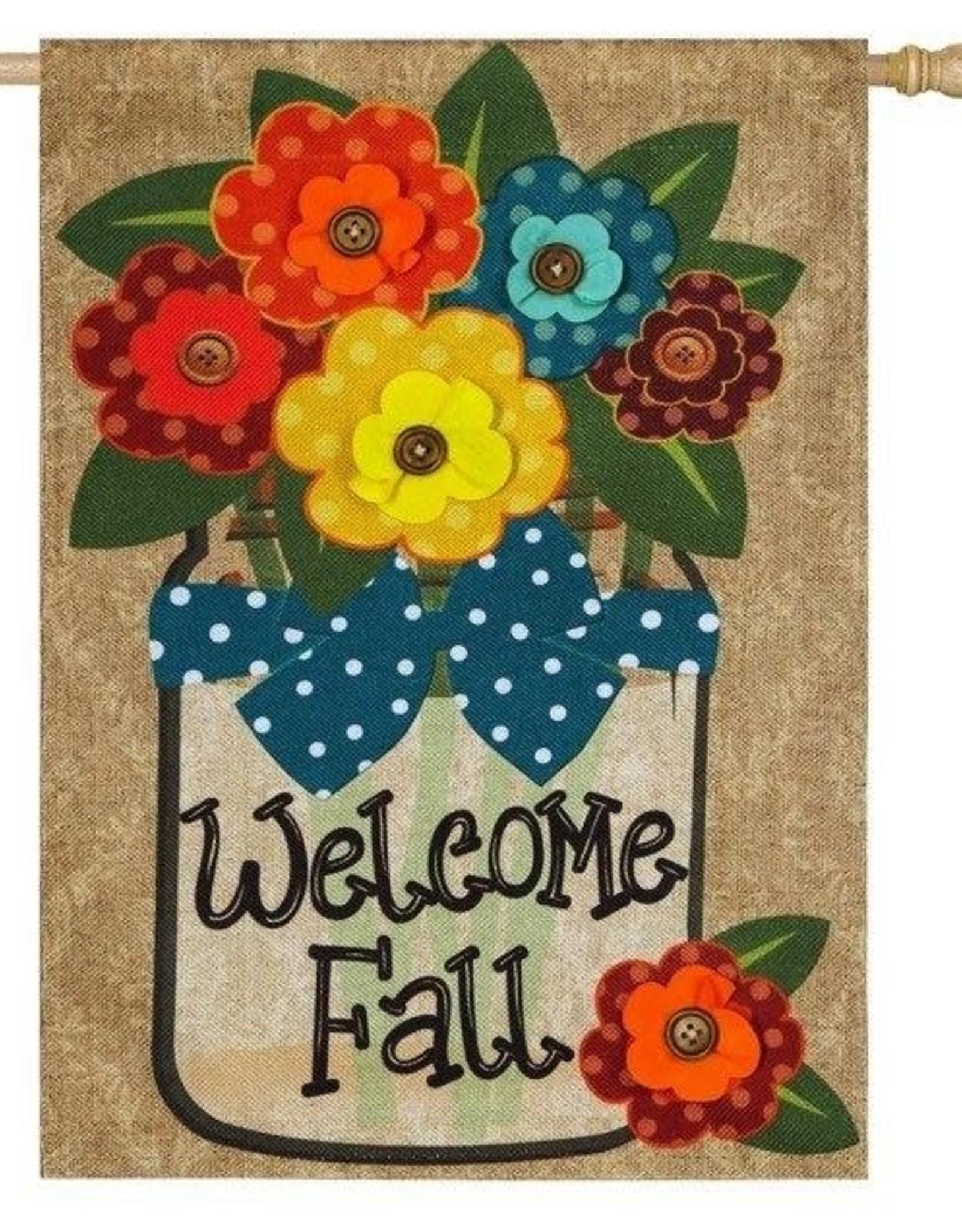Evergreen EV Welcome Fall Mason Jar