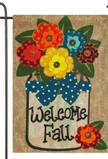 Evergreen EV Welcome Fall Mason Jar GF