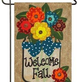 Evergreen EV Welcome Fall Mason Jar GF