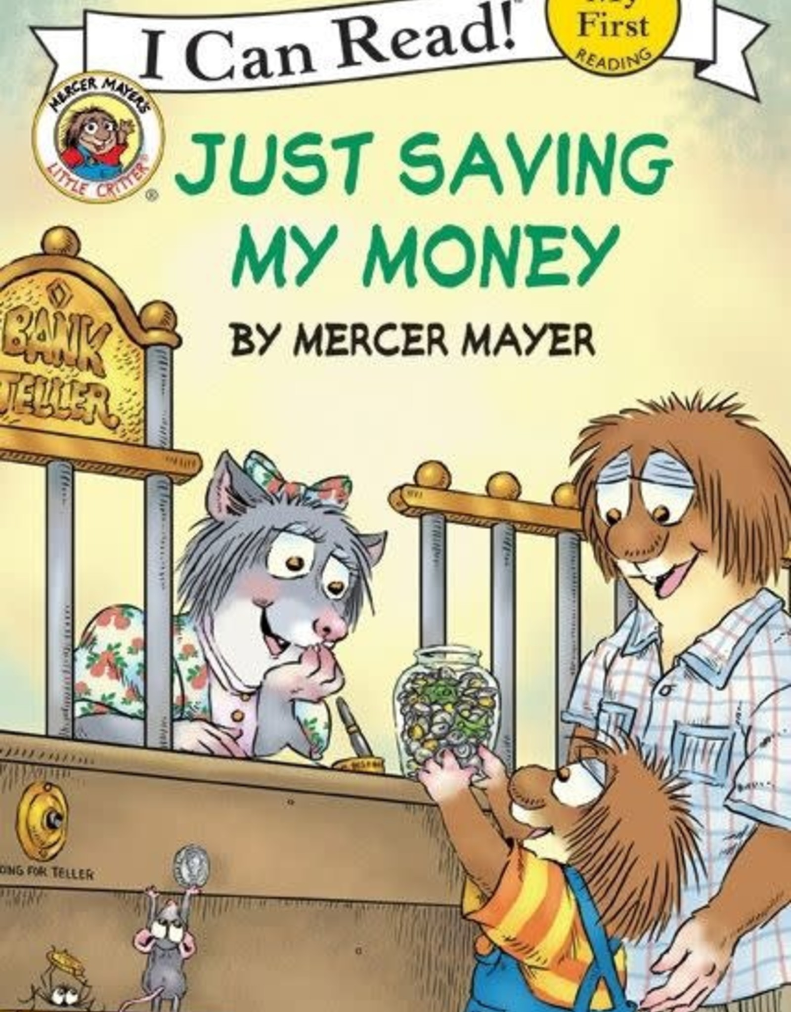 I Can Read! Critter Just Saving Money F