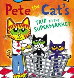 I Can Read! Pete Cat Supermarket Trip L1