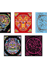 Janod Scratch Art Animal Mandalas