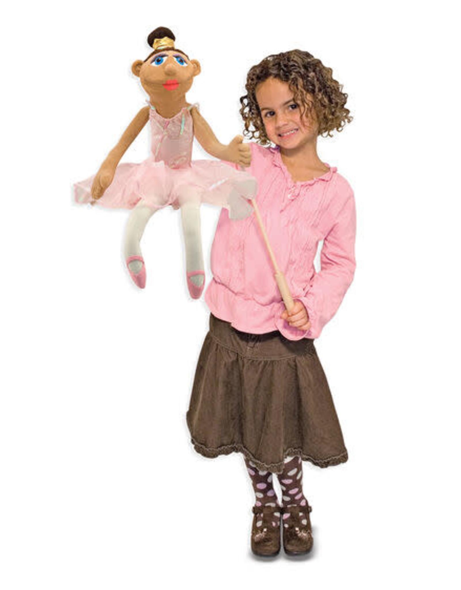 Melissa & Doug MD Puppet Ballerina
