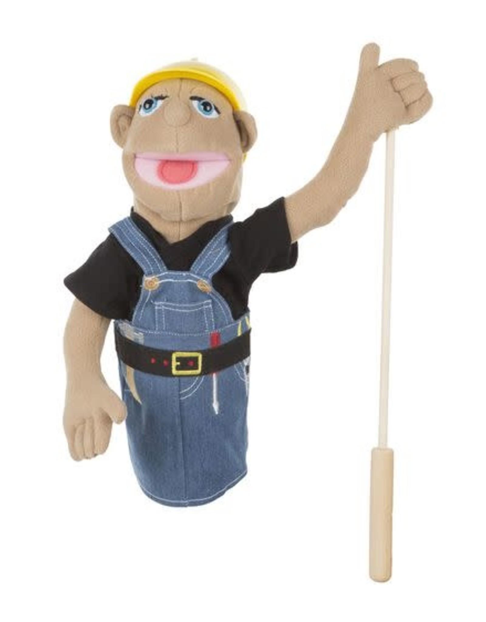 Melissa & Doug MD Puppet Construction Worker