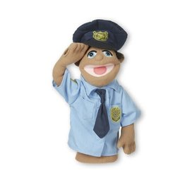 Melissa & Doug MD Puppet Police Officer