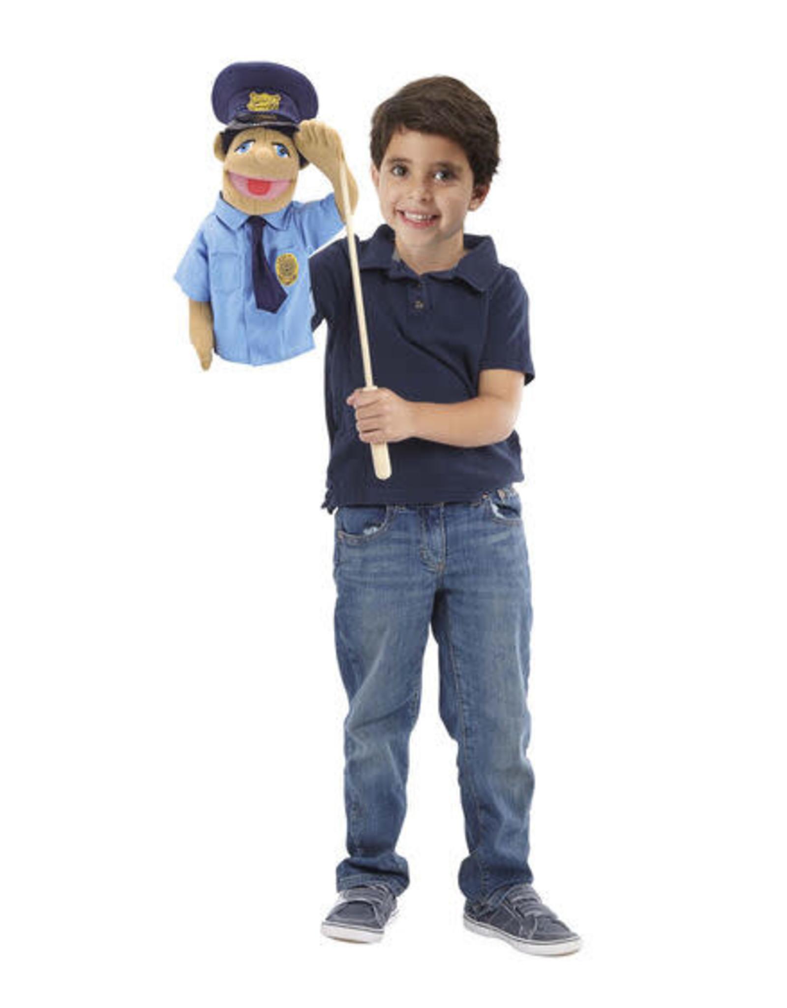 Melissa & Doug MD Puppet Police Officer