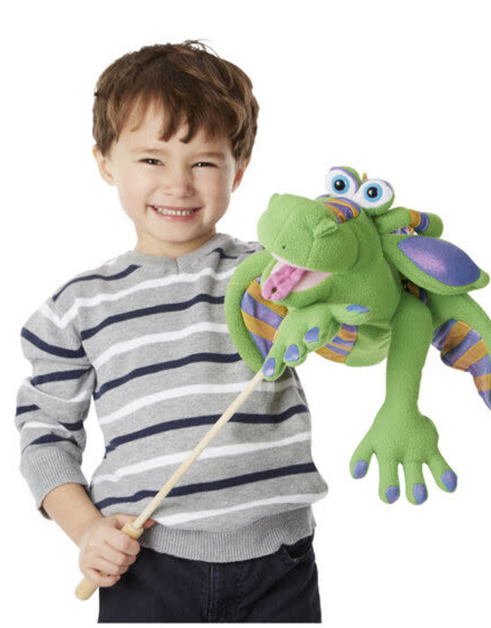 Melissa & Doug MD Puppet Smoulder Dragon