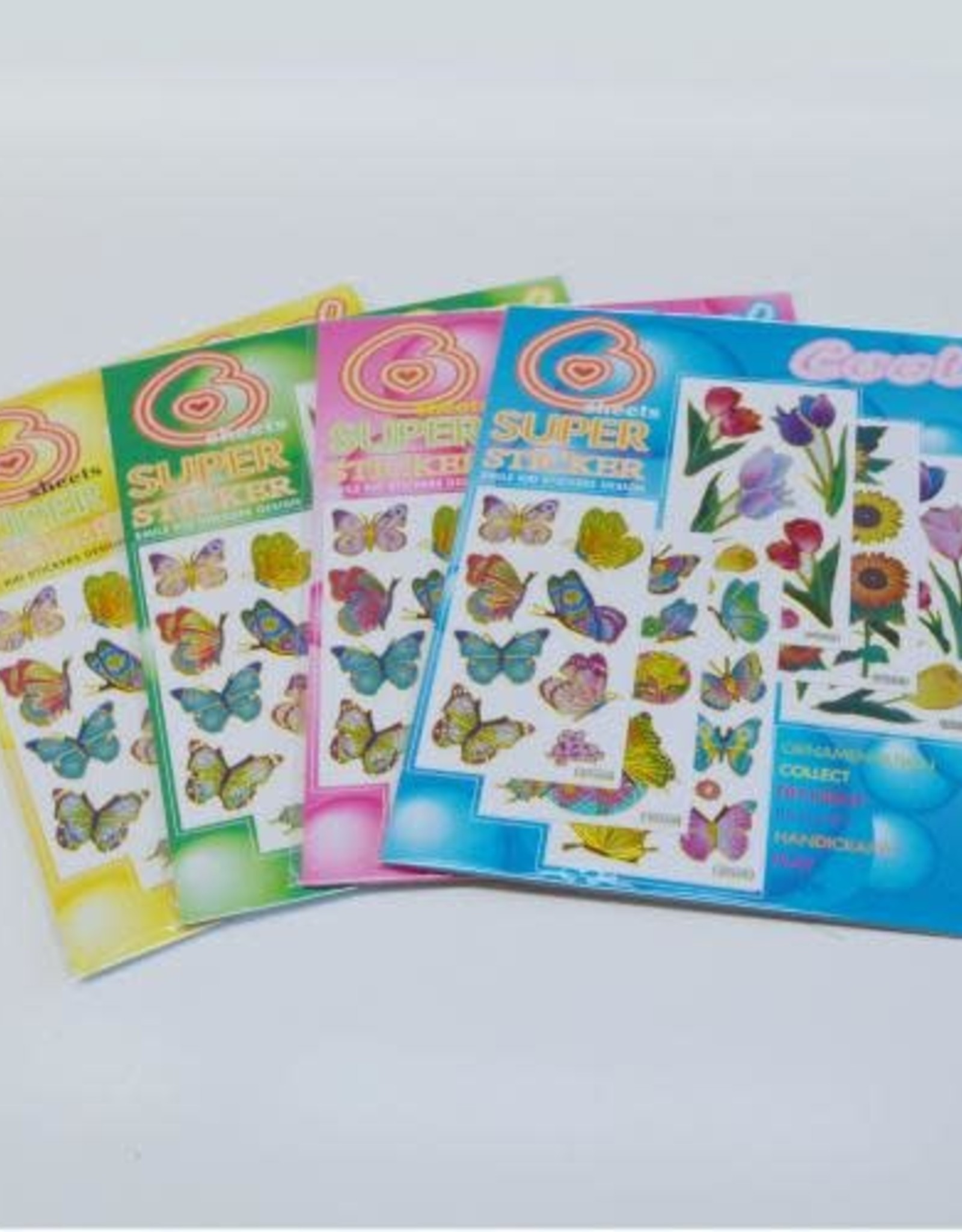 Hayes Specialties Sticker Set Butterfly