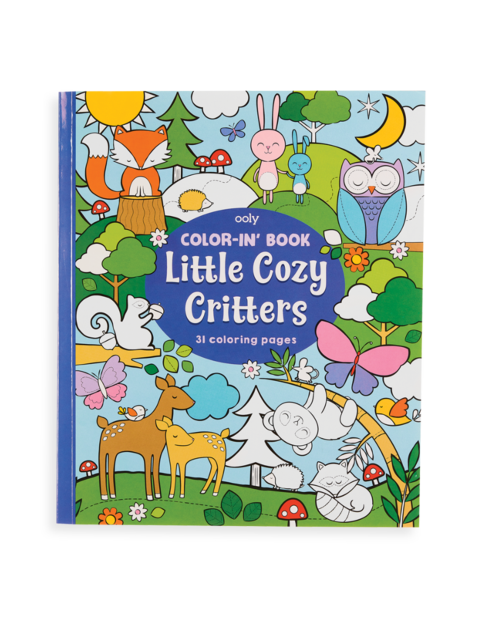 Ooly Color In Book Cozy Critters