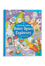 Ooly Color In Book Outer Space