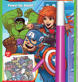 Lee Publications Magic Ink Marvel Power Up Squad