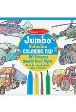 Melissa & Doug MD Coloring Pad Vehicles
