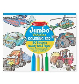 Melissa & Doug MD Coloring Pad Vehicles