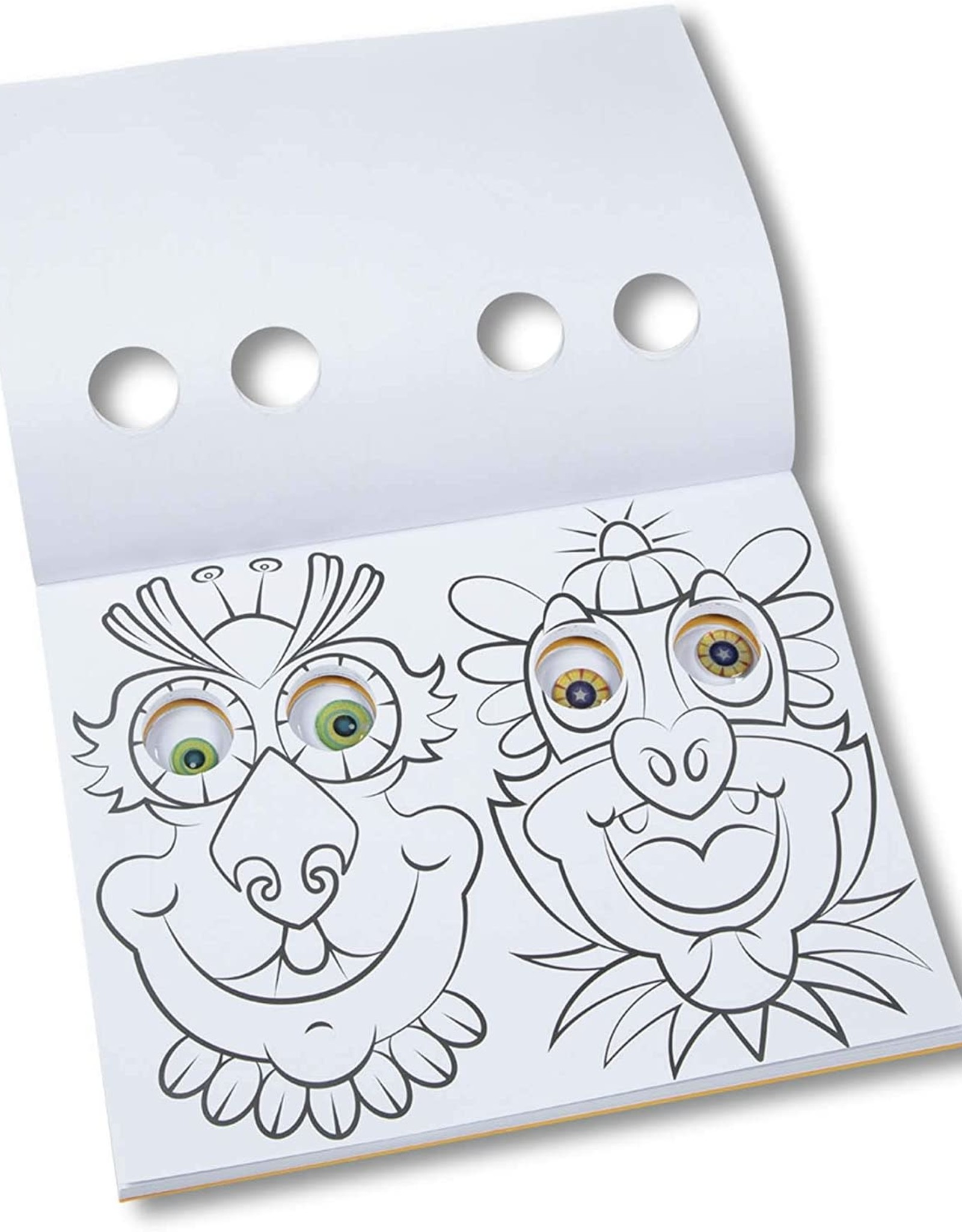 Melissa & Doug MD Goofy Monster Googly Eyes