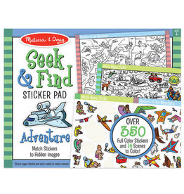 Melissa & Doug MD Seek & Find Sticker Pad Adventure