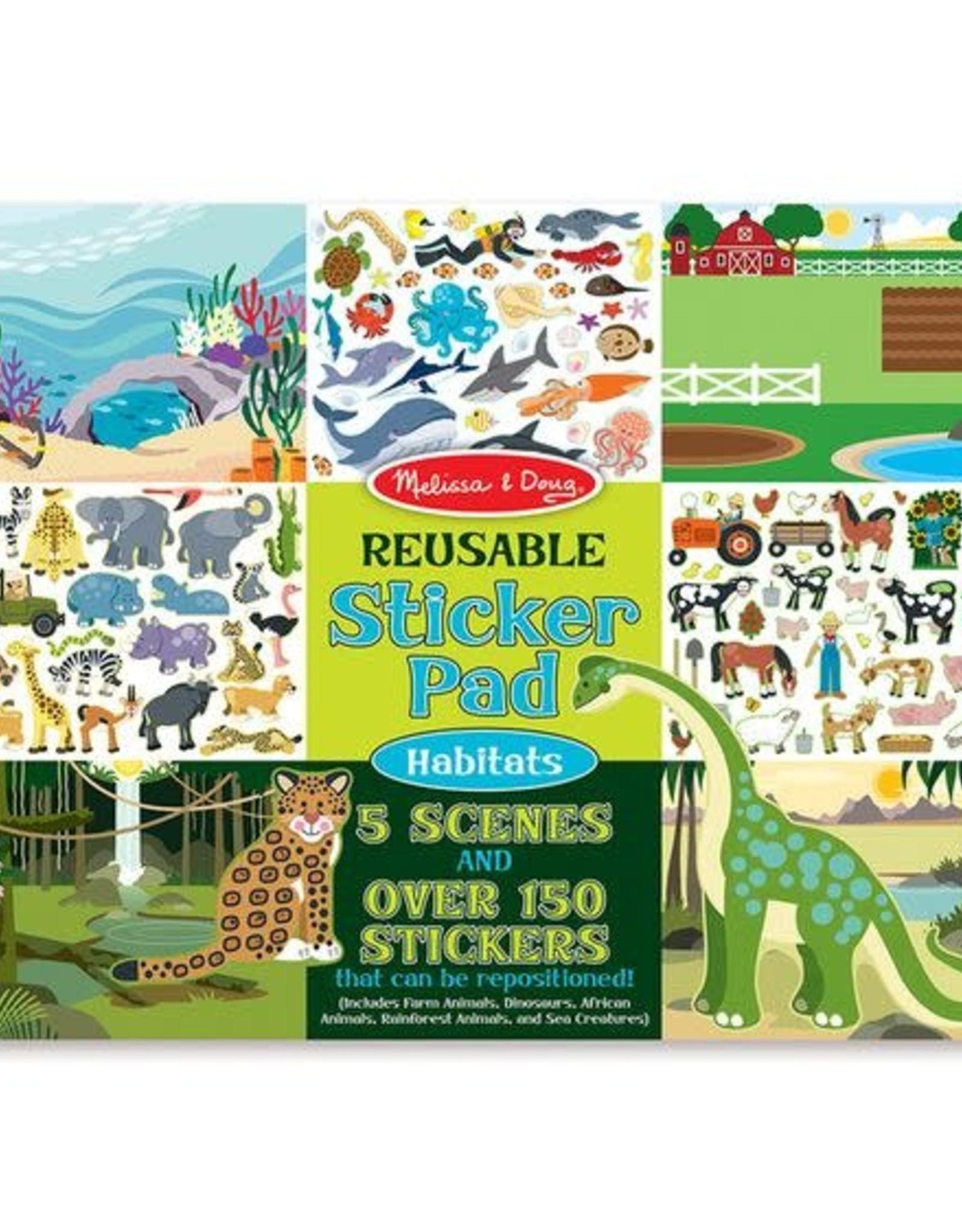 Melissa & Doug MD Sticker Pad Habitats