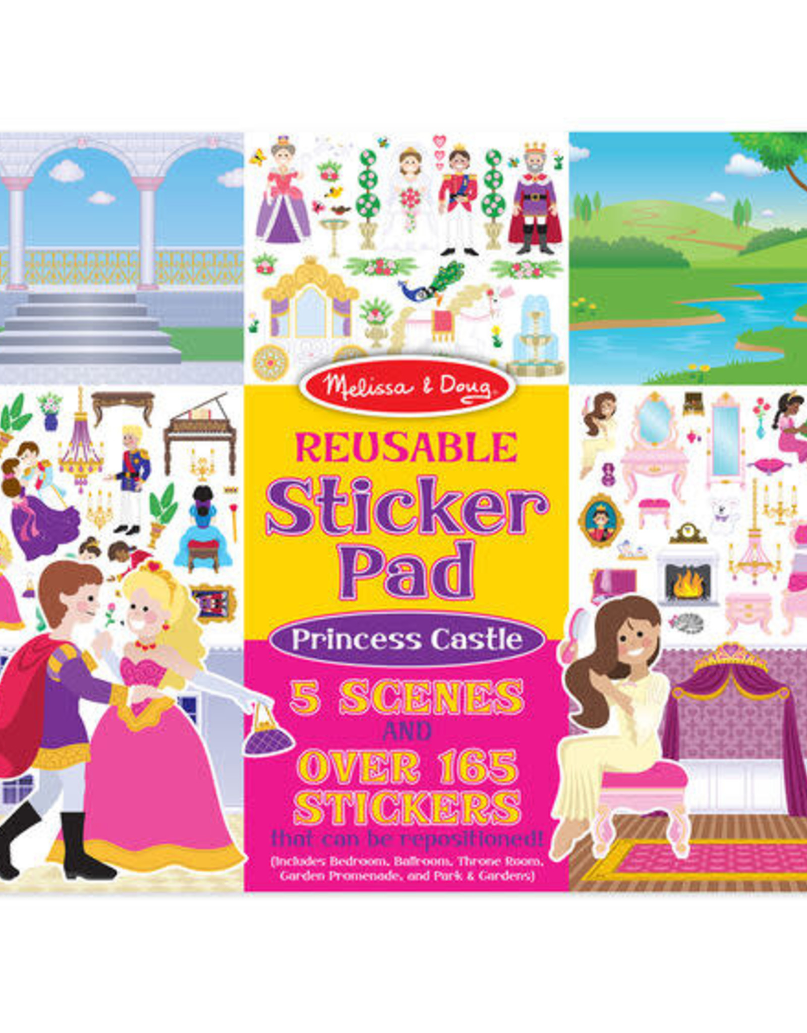 Melissa & Doug MD Sticker Pad Princess Castle