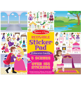 Melissa & Doug MD Sticker Pad Princess Castle