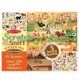 Melissa & Doug MD Sticker Pad Scratch & Sniff Treats