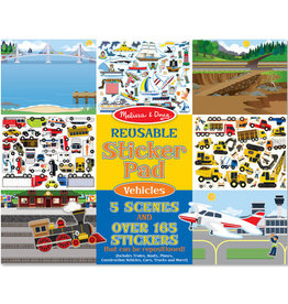 Melissa & Doug MD Sticker Pad Vehicles