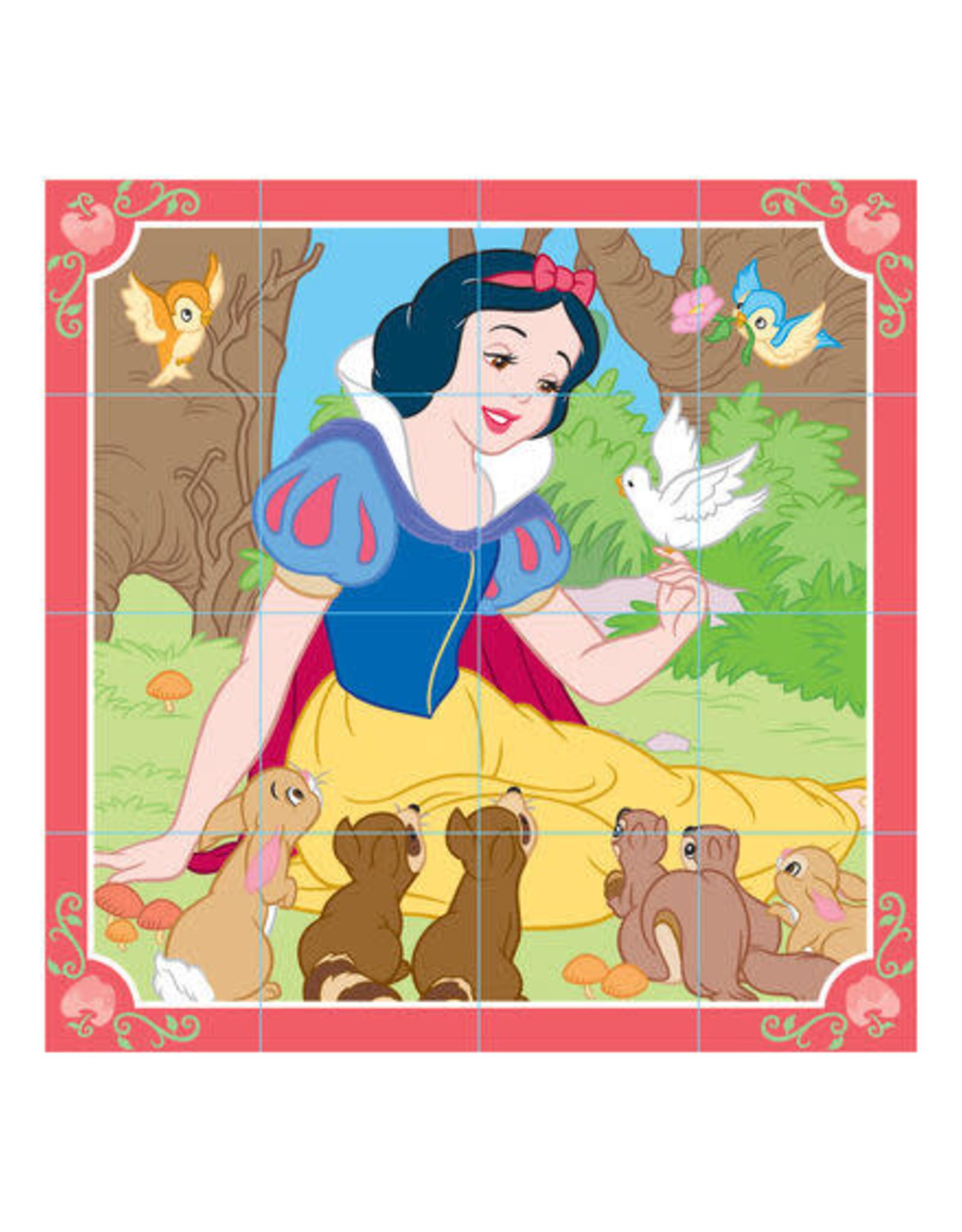 Melissa & Doug MD Puzzle Wooden Cube Disney Princess